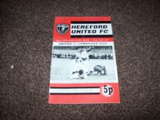 Hereford United v Cambridge City, 1971/72